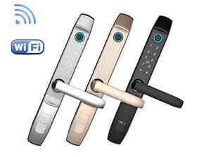 Khóa Vân Tay Wifi Cửa Nhôm Xingfa Denso Lock TY02